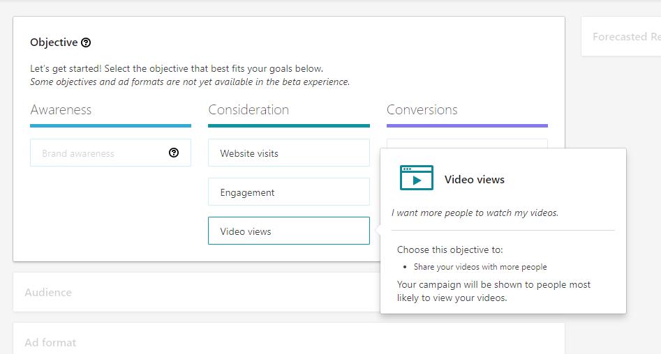 LinkedIn Objective Ads - Video Views