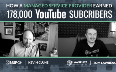 How An MSP Is Turning 178K YouTube Subscribers Into Co-Managed IT Revenue